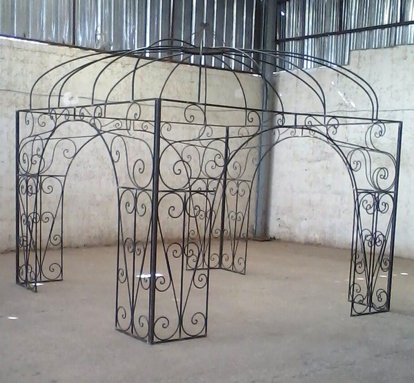 tonnelle carr e. Black Bedroom Furniture Sets. Home Design Ideas